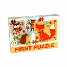 D-Toys Tanuló játék Baby puzzle, erdei állatok