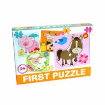 D-Toys Tanuló játék Baby puzzle, háziállatok