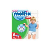 Molfix bugyipelenka Pants (6-os) 15 + kg (19 db/cs)