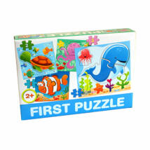 D-Toys Tanuló játék Baby puzzle, tengeri állatok