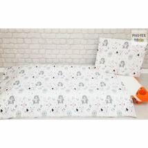 Pihetex Gyermek ágynemű szett Erdei állatok, rózsa 90 * 140 cm (2 db/sz)