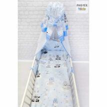 Pihetex Gyermek ágynemű szett Afrikai álom, kék 90 * 140 cm (4 db/sz)