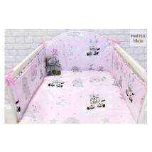 Pihetex Gyermek ágynemű szett Afrikai álom, rózsa 90 * 140 cm (3 db/sz)