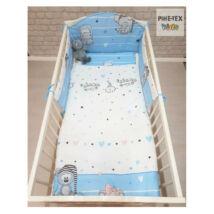 Pihetex Gyermek ágynemű szett Pizsiparti, kék 90 * 140 cm (3 db/sz)