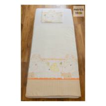 Pihetex Gyermek ágyneműhuzat Állatkás, szürke-narancs 90 * 140 cm (2 db/sz)