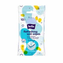 Bella Antibakteriális törlőkendő frissítő kendő (10 db/cs)