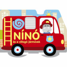 Szalay könyvek Kartonkönyv Nínó és a villogó járművek