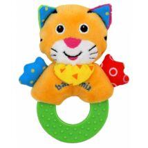 Baby Mix Tanuló játék Plüss cica, rágókával