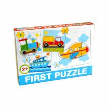 D-Toys Tanuló játék Baby puzzle, járművek