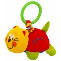 Baby Mix Plüssállat Rezgő színes cica, dundi