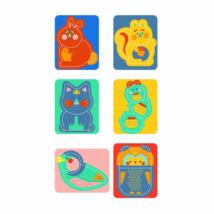 Clementoni Tanuló játék Baby puzzle, állatok