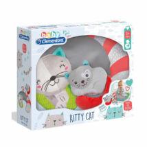 Clementoni Tanuló játék Baby cica párna kicsinyével