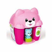 Clementoni Tanuló játék Pink cicás építőszett