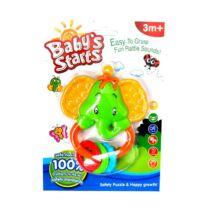 Baby's Starts Csörgő Elefánt, rágókás füllel