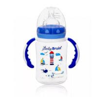 BabyBruin Cumisüveg Megújult verzió Fogóval széles szájú (240 ml/db)
