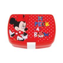 Disney Minnie Mouse Ételtároló doboz uzsonnásdoboz, kattanózáras