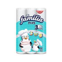 Familia Plus Konyhai törlőkendő Pompom Pingvin Gigapack, fehér (12 db/cs)