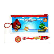 Angry Birds Gyerekfogkefe Utazó szett