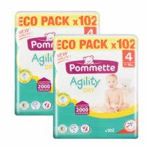 Pommette Havi pelenkacsomag Eco pack (4-es) 7 - 18 kg