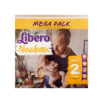 Libero Comfort pelenka MegaPack (2-es) 3 - 6 kg (108 db/cs)
