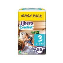 Libero Comfort pelenka MegaPack (3-as) 5 - 9 kg (86 db/cs)