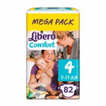 Libero Comfort pelenka MegaPack (4-es) 7 - 11 kg (82 db/cs)