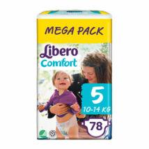 Libero Comfort pelenka MegaPack (5-ös) 10 - 14 kg (78 db/cs)