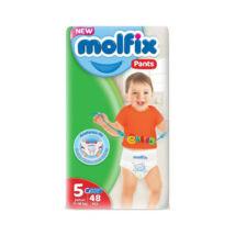Molfix bugyipelenka Pants (5-ös) 12 - 17 kg (48 db/cs)