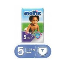 Molfix pelenka Próbacsomag, régi (5-ös) 11 - 18 kg (7 db/cs)