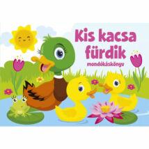Szalay könyvek Kartonkönyv Mondókáskönyv - Kis kacsa fürdik