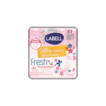 Labell Egészségügyi betét Ultra Mince, Deo fresh szárnyas (méret: normál) (14 db/cs)