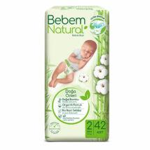 Bebem Natural pelenka (2-es) 3 - 6 kg