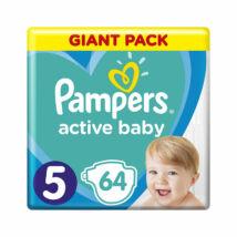 Pampers Active Baby pelenka megújult Giant Pack (5-ös) 11 - 16 kg (64 db/cs)