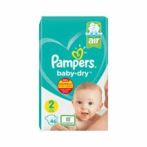 Pampers Baby-Dry pelenka (2-es) 4 - 8 kg (46 db/cs)