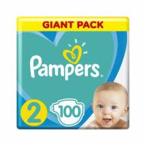 Pampers Active Baby pelenka megújult Giant Pack (2-es) 4 - 8 kg (100 db/cs)