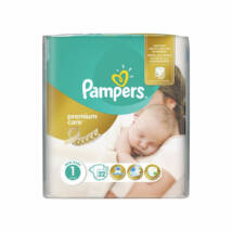 Pampers Premium Care pelenka (1-es) 2 - 5 kg (22 db/cs)