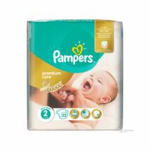 Pampers Premium Care pelenka (2-es) 3 - 6 kg (22 db/cs)