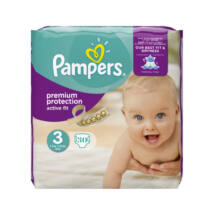 Pampers Premium Protection pelenka Active Fit (3-as) 4 - 9 kg (30 db/cs)