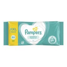 Pampers Popsitörlő megújult illatmentes sensitive (80 db/cs)