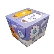 Bella Happy Papírzsebkendő Színes dobozban (80 db/cs)