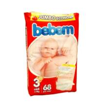 Bebem Jumbo pelenka (3-as) 4 - 9 kg (68 db/cs)