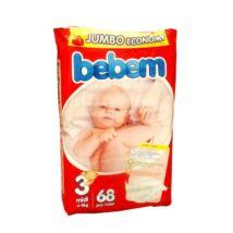 Bebem Jumbo pelenka (3-as) 4 - 9 kg (68 db/cs)