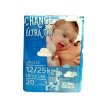 Change pelenka Ultra dry (5-ös) 12 - 25 kg (20 db/cs)