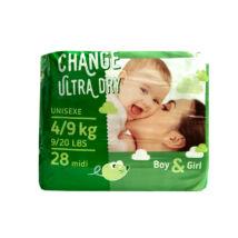Change pelenka Ultra dry (3-as) 4 - 9 kg (28 db/cs)