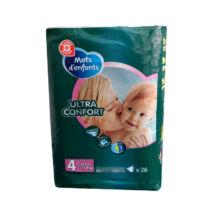 Ontex Mots d'enfants pelenka (4-es) 7 - 18 kg (26 db/cs)