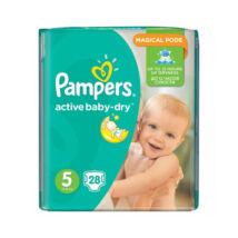 Pampers ActiveBaby-Dry pelenka (5-ös) 11 - 25 kg (28 db/cs)