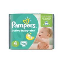 Pampers Active baby-dry pelenka (4-es) 7 - 14 kg (46 db/cs)