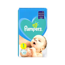 Pampers New Baby pelenka (1-es) 2 - 5 kg (43 db/cs)