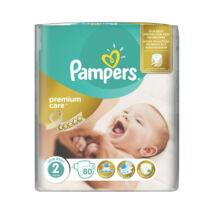 Pampers Premium pelenka (2-es) 3 - 6 kg (80 db/cs)