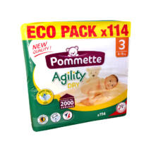 Pommette pelenka Eco pack (3-as) 4 - 9 kg (114 db/cs)
